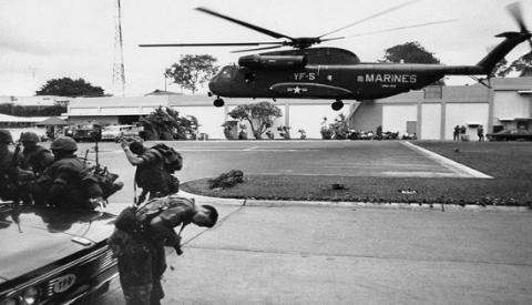 CH-53 tại tòa đại sứ