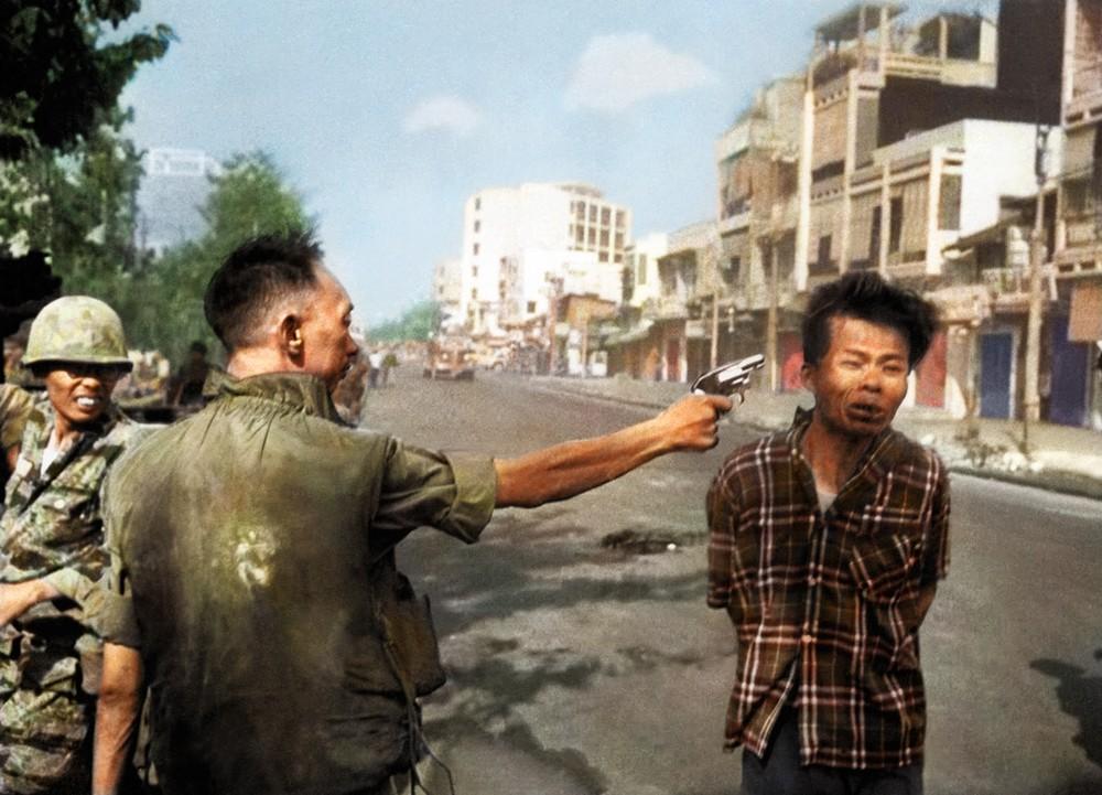 Hành quyết tại Sài Gòn - ảnh màu